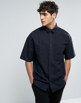Dr Denim Felix Shirt Black