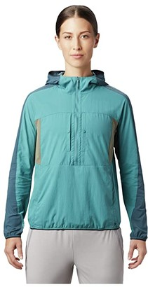 Mountain Hardwear Echo Laketm Hoodie (Washed Turquoise) Women's T Shirt
