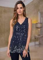 Together Beaded Sleeveless Top
