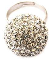 Johnny Loves Rosie Silver Ball Ring - Size P