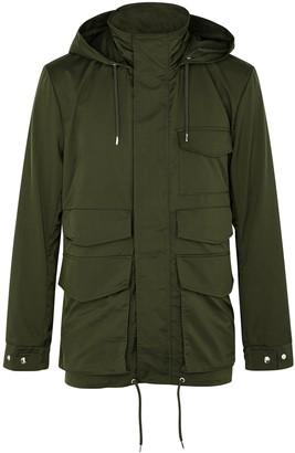 A Kind Of Guise Busua dark green utility jacket