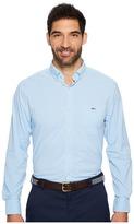 Vineyard Vines Seawater Gingham Classic Tucker Shirt Men's Clothing