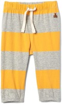 Rugby stripe pull-on pants