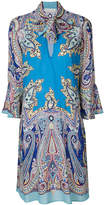 Etro paisley print shift dress