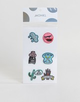 Monki Novelty Patches Multipack