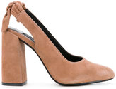 Senso Xeno pumps - women - Suede/Synthetic Resin/Kid Leather - 35