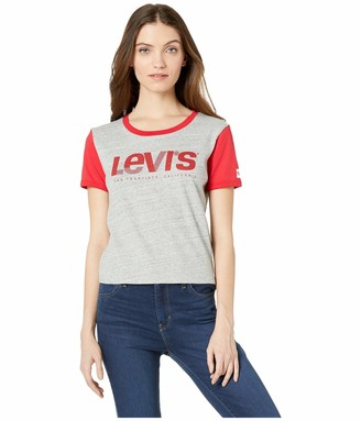 Levi's Women's Graphic Surf Tee Shirt