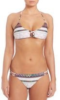 Mara Hoffman Pinwheel Lattice Bikini Top