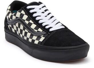 Vans ComfyCush Era Old Skool Mixed Check Lace-Up Sneaker
