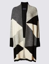 Marks and Spencer Colour Block Print Cardigan
