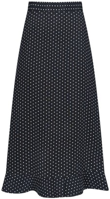 A.P.C. Polka Dot Skirt