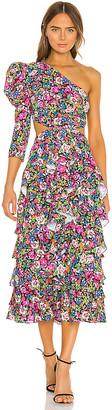 MERGIM Primrose One Shoulder Dress