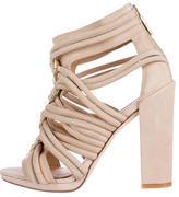 Rachel Zoe Suede Multistrap Sandals