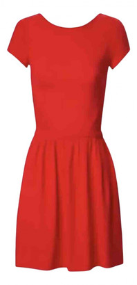Maje Red Synthetic Dresses