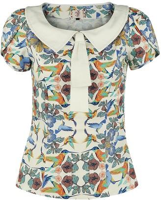 Banned Dancing Days Mandala Top Girls shirt multicolour XS