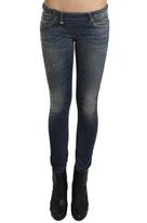 R 13 Zip Skinny Jean