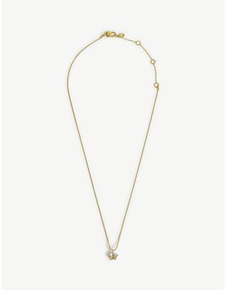 Kate Spade Mini star cubic zirconia necklace