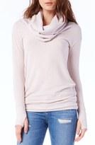 Michael Stars Women's Thumbhole Cuff Cowl Neck Sweater