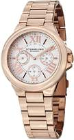 Stuhrling Original Women's 367.03 Symphony Pontiff Analog Display Quartz Rose Gold Watch