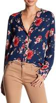 KUT from the Kloth Liliana Floral Print Blouse