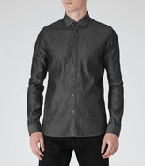 Reiss Brooklyn SLIM-FIT DENIM SHIRT