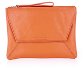 Oasis Dex Leather Clutch Bag