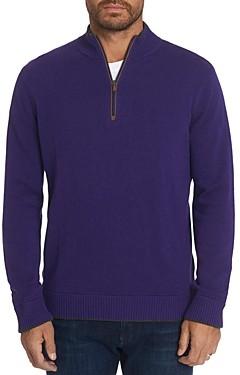 Robert Graham Selleck Quarter-Zip Classic Fit Sweater
