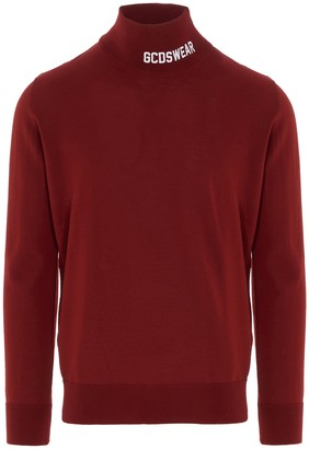 GCDS Logo Turtleneck Jumper