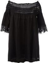 Twin-Set off-shoulder blouse - women - Cotton - 38