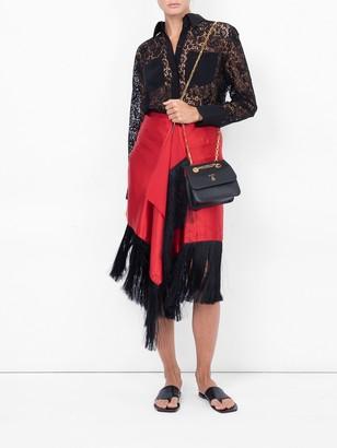 Givenchy Lace Blouse Black