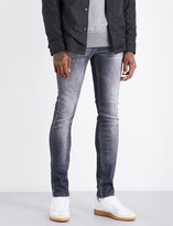 7 For All Mankind Ronnie Luxe slim-fit skinny mid-rise jeans