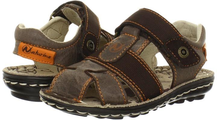 Naturino 5665 SP13 (Toddler/Little Kid/Big Kid) (Brown) - Footwear