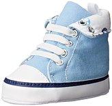 Gerber Med Blue Rollover Hightop Sneaker (Infant)