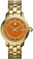 Tory Burch TRB1006 gold-tone/orange watch