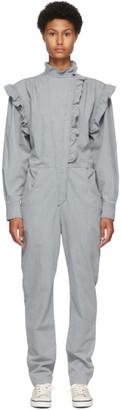 Etoile Isabel Marant Grey Chambray Gayle Jumpsuit