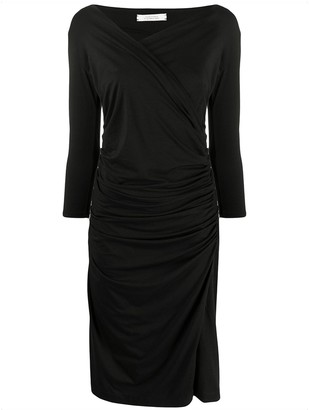 Dorothee Schumacher Fascinating Drapes midi dress