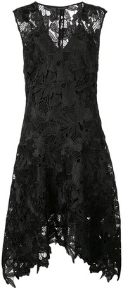 Josie Natori Lace Swing Dress