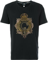 Class Roberto Cavalli logo embellished T-shirt
