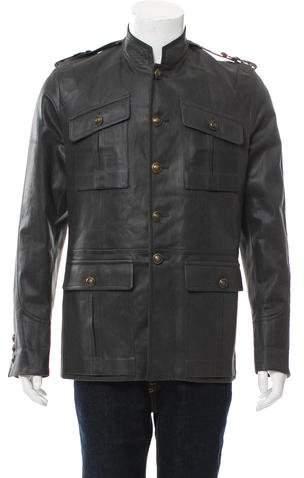 Gucci Coated Military Jacket