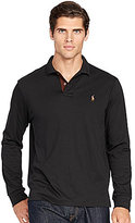 Polo Ralph Lauren Big & Tall Pima Soft-Touch Long-Sleeve Polo Shirt