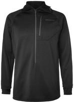 Patagonia R1 Polartec Power Grid Fleece-back Jersey Hoodie - Black