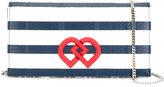 DSQUARED2 mini DD striped crossbody bag - women - Calf Leather - One Size