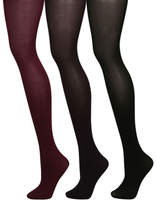 George 3 Pack Opaque 60 Denier Tights