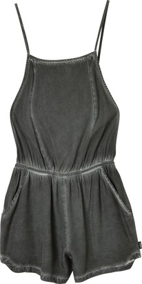 RVCA Women's Chaser Pigment Dye Romper Cover Up