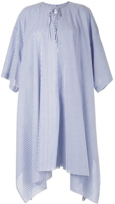 Marques Almeida Striped Poplin Dress