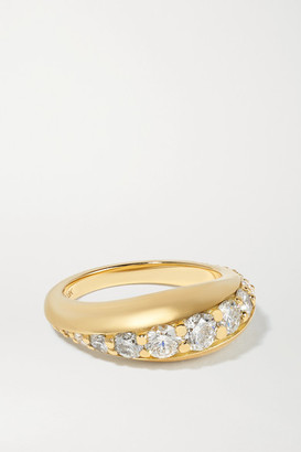 Melissa Kaye Remi 18-karat Gold Diamond Ring - 7