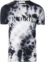 Rodarte Crystal tie dye T-shirt - unisex - Cotton/Polyester/Rayon - L