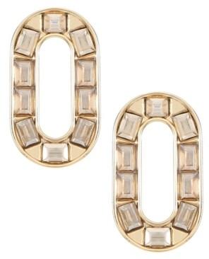 Trifari Gold-Tone Stud Earrings