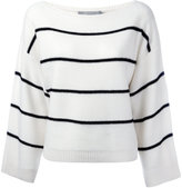Vince cashmere striped jumper - women - Cashmere - XS