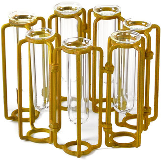 Tozai Home Set Of 7 Hinged Vases